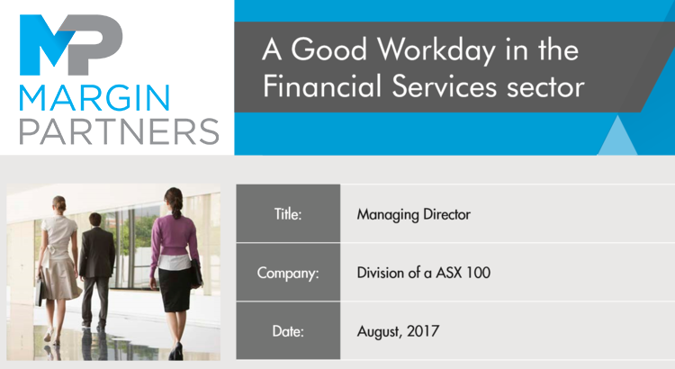 A good Workday in Financial Services